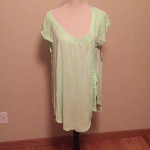 Light green Tunic top by Free People